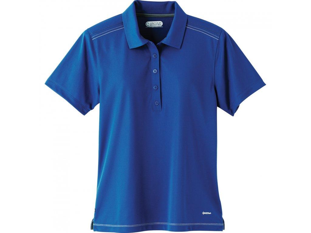a7ad24763 Elevate sports wear TM96217 Dunlay Women's Short Sleeve Polo Shirt