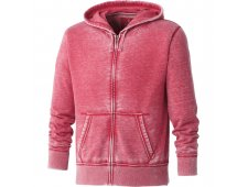Ridgemont Burnout Fleece Full Zip Hoody (Imprinted)