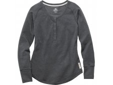 Riverrock Henley Women's Long Sleeve T-Shirt w/ 4 Button Placket