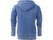 Ridgemont Women's Burnout Fleece Full Zip Hoody (Imprinted)